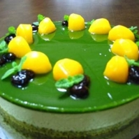 Bavarois au thé vert Matcha Recipe