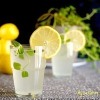 Spicy Lemonade with Garden Fresh Mint Recipe