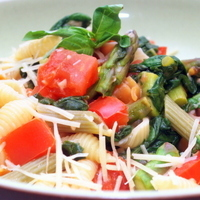 Pasta Primavera, Fat Free Recipe