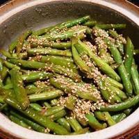 Garlic Ginger Green Beans Recipe