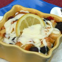 Lemon Blueberry Bread Pudding Recipe