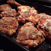 Oven Fried Chicken Thighs Recipe