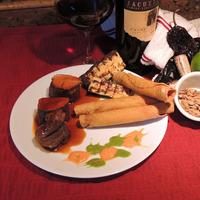 Mesquite Smoked Pork Tenderloin with Bourbon-Ancho/Pasilla Sauce Recipe