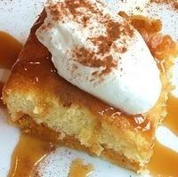 Pumpkin Custard Cake Recipe