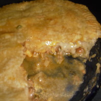 PULLY PORK POT PIE Recipe