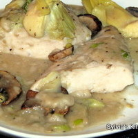Baked Chicken Breasts with Mushrooms and Artichoke Hearts Recipe