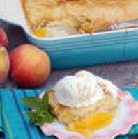 Dutch Oven Peach Cobbler Recipe