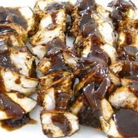 Fabulous Grilled Turkey Tenderloin With a Dazzling Balsamic Sauce Recipe