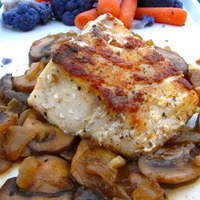Pan-Seared Sea Bass in a Marsala Sauce Recipe