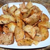 Chili Roasted Potatoes Recipe