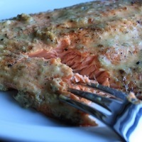 Broiled Steelhead Trout with Horseradish Sauce Recipe