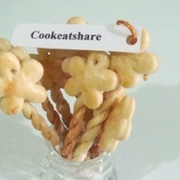 Homemade Fancy Fortune Cookies Recipe