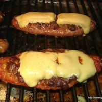 Chili Stuffed Brats Recipe