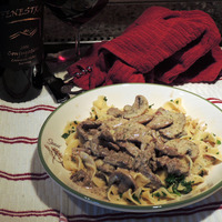 Beef Tenderloin Stroganoff With Dill Weed Recipe