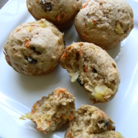Carrot Raisin Muffins Recipe