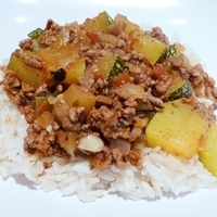 Ground beef and Zucchini Saute Recipe