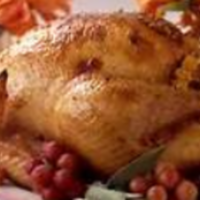 Orange and Molasses-Glazed Turkey with Sherried Pan Gravy Recipe
