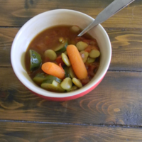 Simple Savory Vegetable Soup Recipe