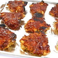 Finger-Lickin Good Chicken with Homemade Barbecue Sauce Recipe