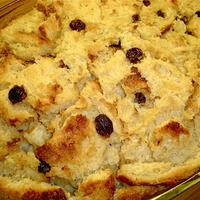 Ruby's Creole Bread Pudding & Butter Rum Sauce Recipe