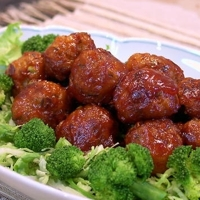 Kimchi Meat Balls in Sweet & Sour Sauce Recipe