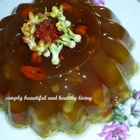 Healthy Chinese Violet Eucheuma Jelly Recipe