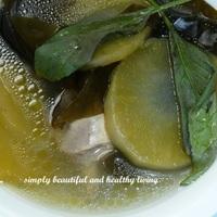 Yakon Kelp Soup Recipe