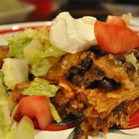 Chicken and Black Bean Enchilada Casserole Recipe