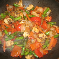 Spicy Thai Vegetables Recipe