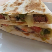 Philly Chesesteak Quesadillas Recipe