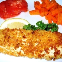 Panko Crusted Baked Tilapia Recipe