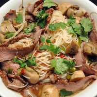 Thai Style Beef Noodle Soup Recipe