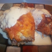 Fried Chicken and Gravy Recipe