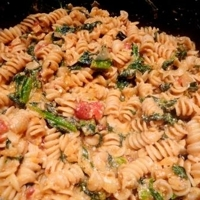 Ricotta and Greens or Spinach Pasta Recipe