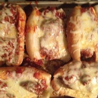 CROCKPOT MEATBALL PARM Recipe