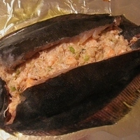 CRAB AND SHRIMP STUFFED FLOUNDER Recipe