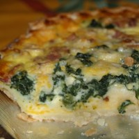 Simple Breakfast Quiche Recipe