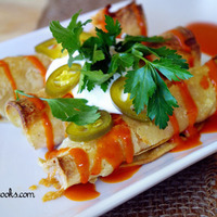 Buffalo Chicken Taquitos Recipe