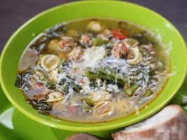 Sausage and Broccoli Rabe Stoup