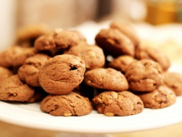 Double Peanut Butter Cup Cookies