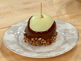 Caramel and Three Chocolate Apples