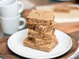 Buttered Scotch Blondies