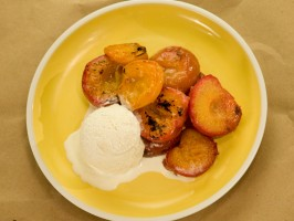Roasted Stone Fruit