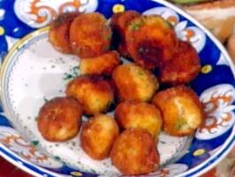 Potato Croquettes---Panzeroti di Patate