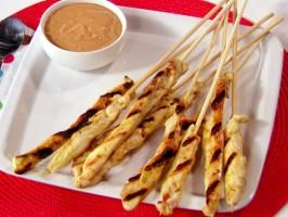 Hip-Hip-Hooray Chicken Satay