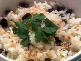 Arroz con Coco: Coconut Rice