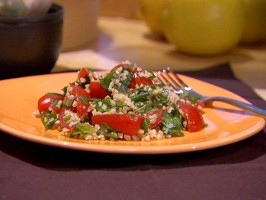 Baby Tomato and Fresh Herb Tabbouleh