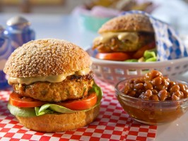 Texas Chicken Burgers