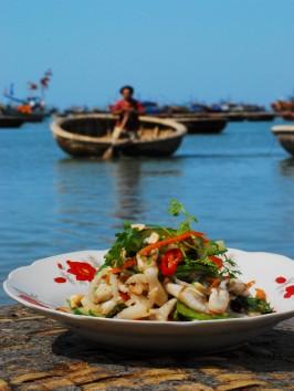 Razor Clam Salad: Goi So Mong Tay