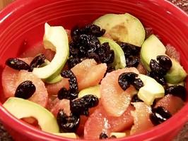 Avocado Grapefruit Salad (Ensalada de Palta y Toronja)